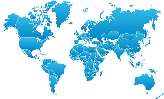 Carte de france Pays