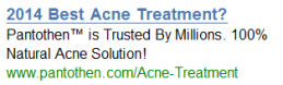 2014 best acne treatment