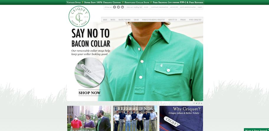 Criquet's Homepage