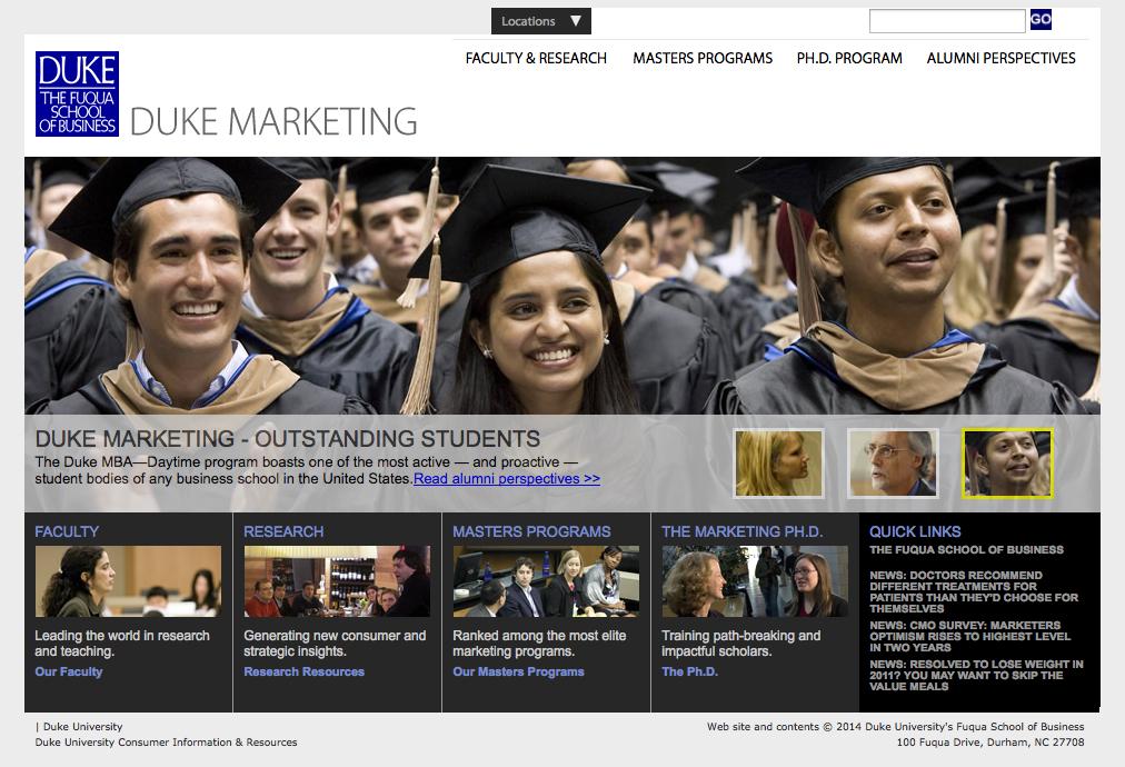 duke marketing education