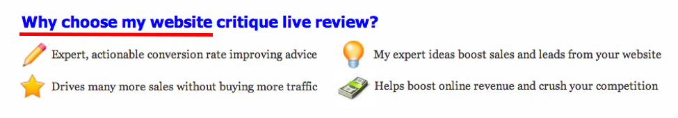 website review