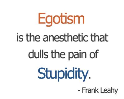 Egotism
