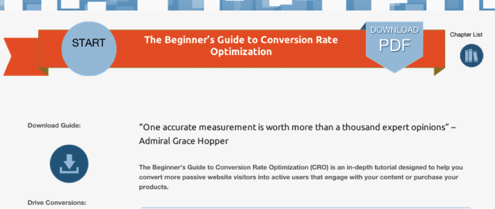 Read Quarto, Beginners Guide to Conversion Rate Optimization