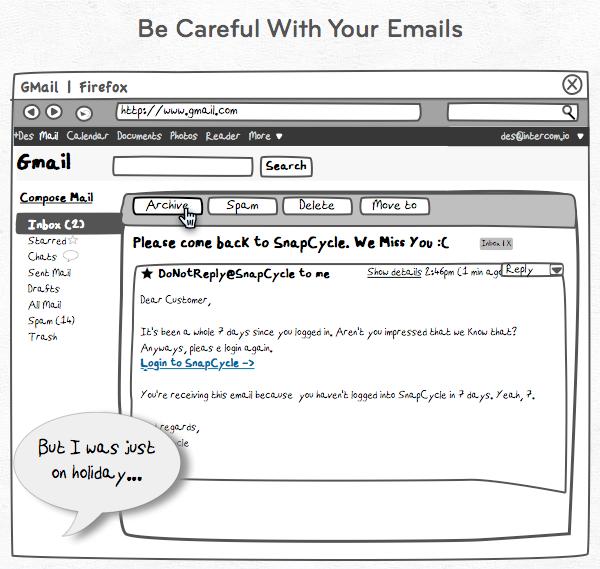 Bad Retention Mail