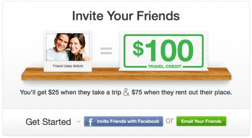 invite your friends $100