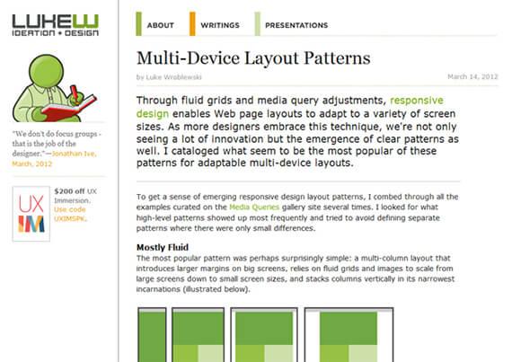 multi layout