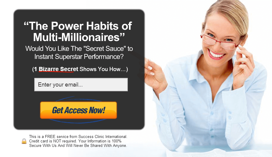 power habits of multimillionaires