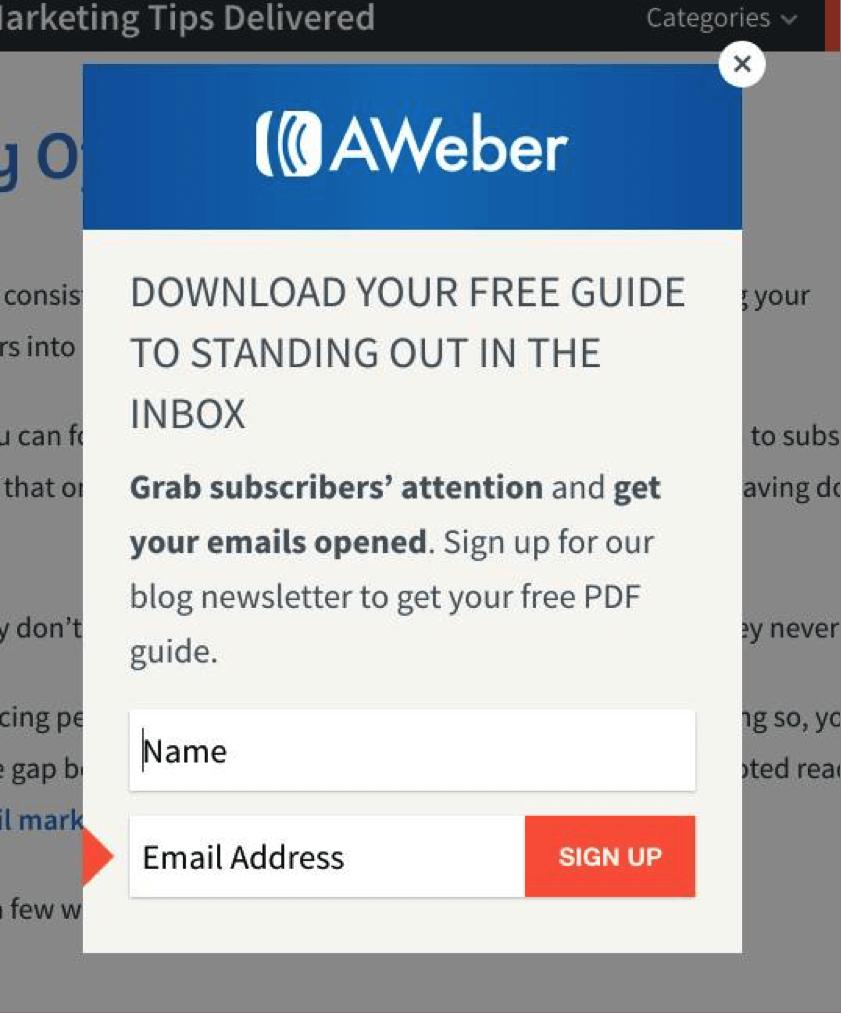 aweber free guide