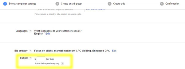 google adwords select campaign settings 2