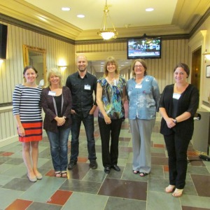 Group photo of the six CEIRS center coordinators.