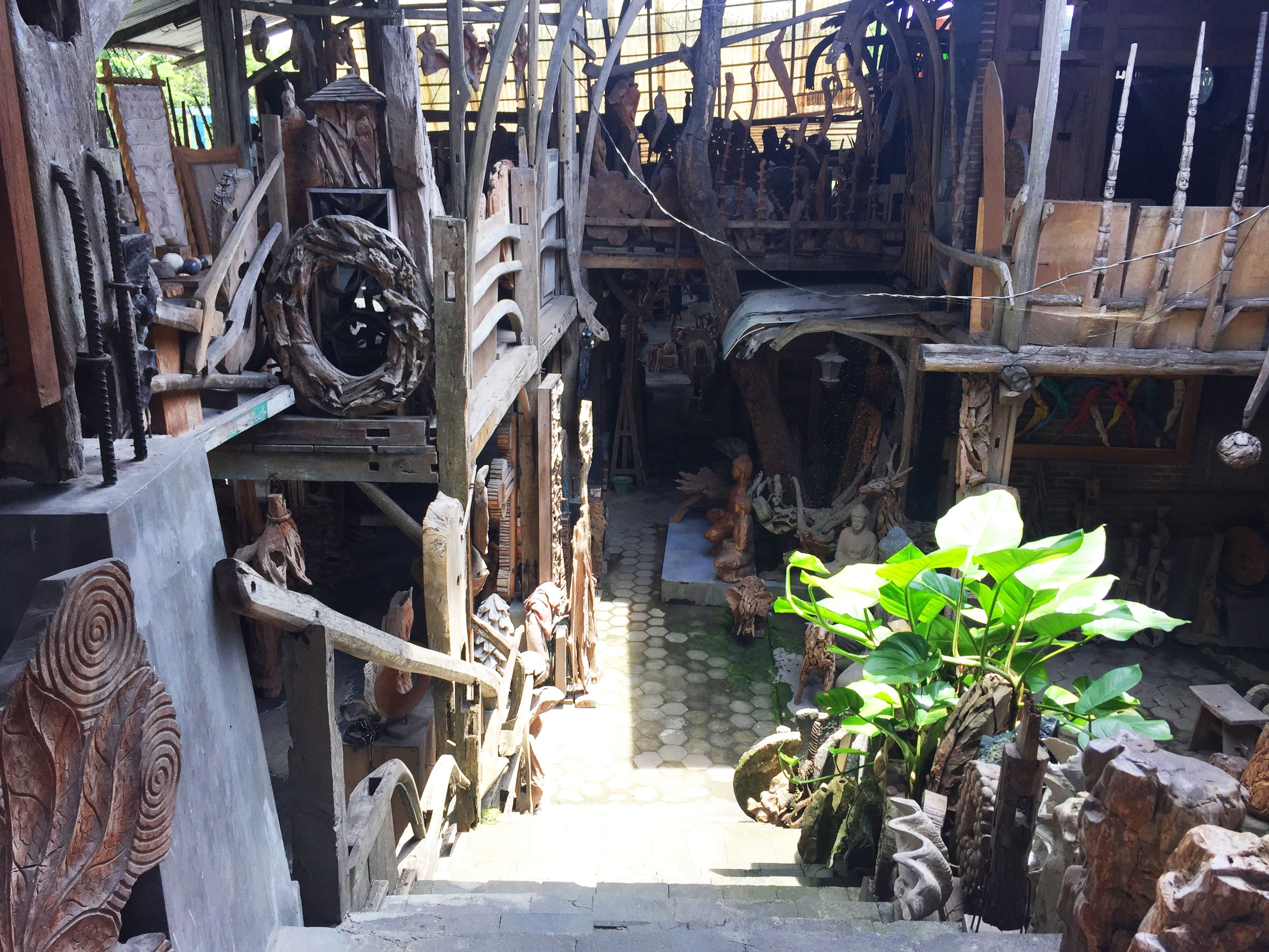 wood den
