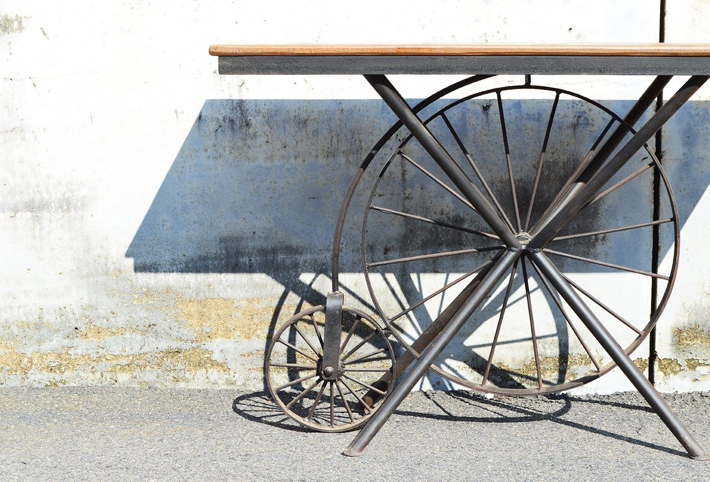 Wheel Table - One-of-a-kind 72
