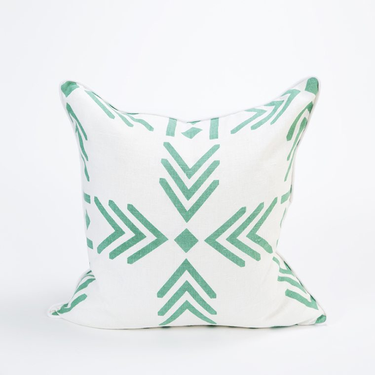 Green Throw Pillow Cover by Celadon Home l #shopceladon