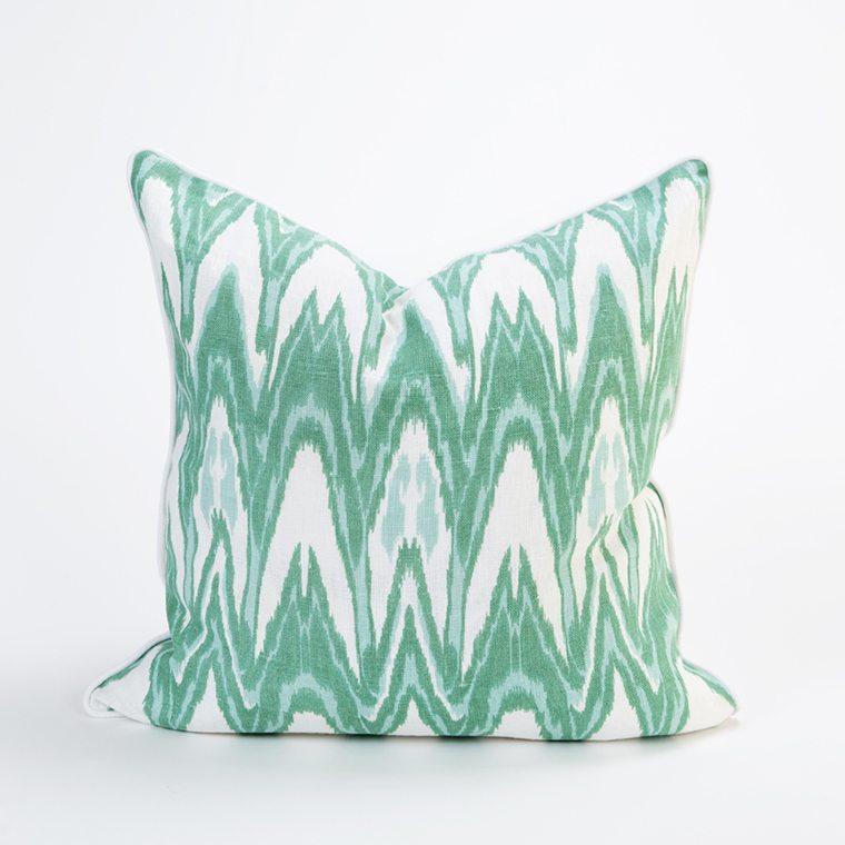 Green Throw Pillow cover  l #shopceladon