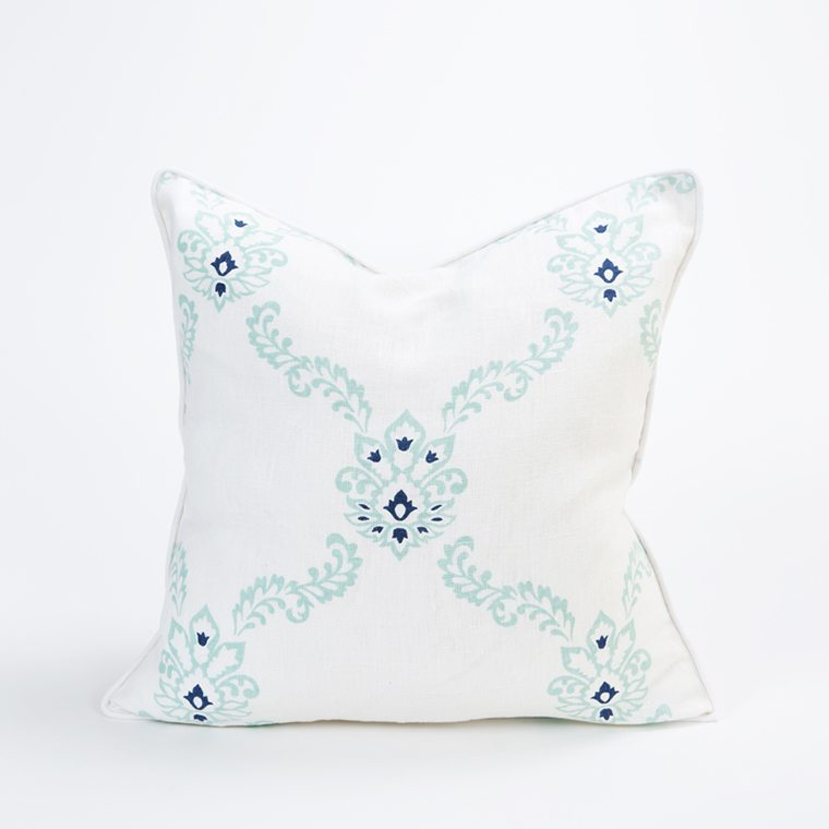 White Throw PIllow Cover by Celadon Home l #shopceladon