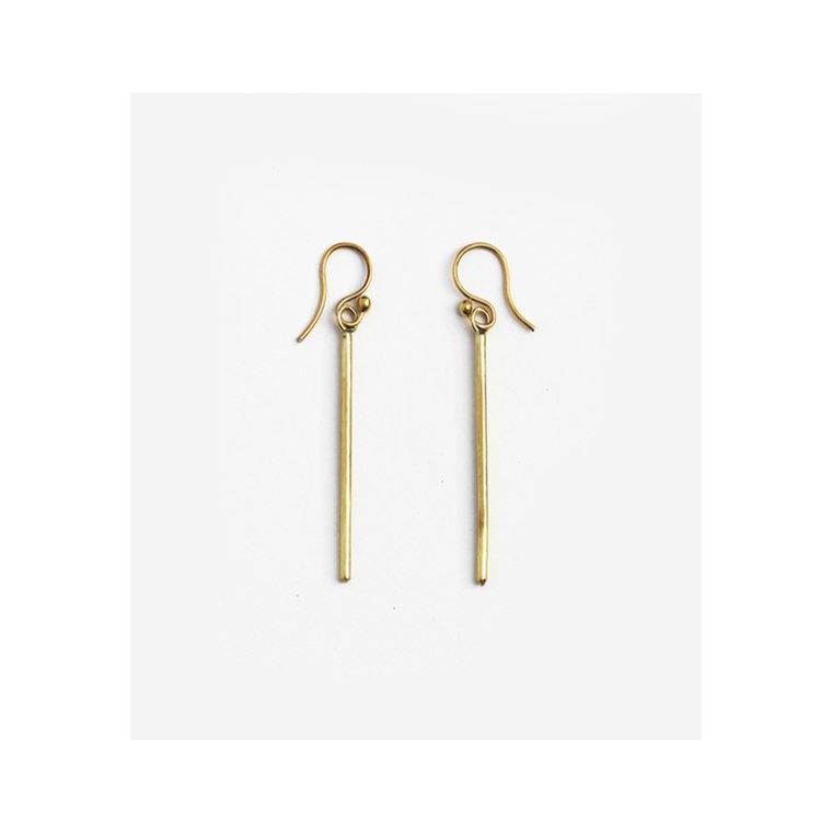 Brass Prim Earring l #shopceladno