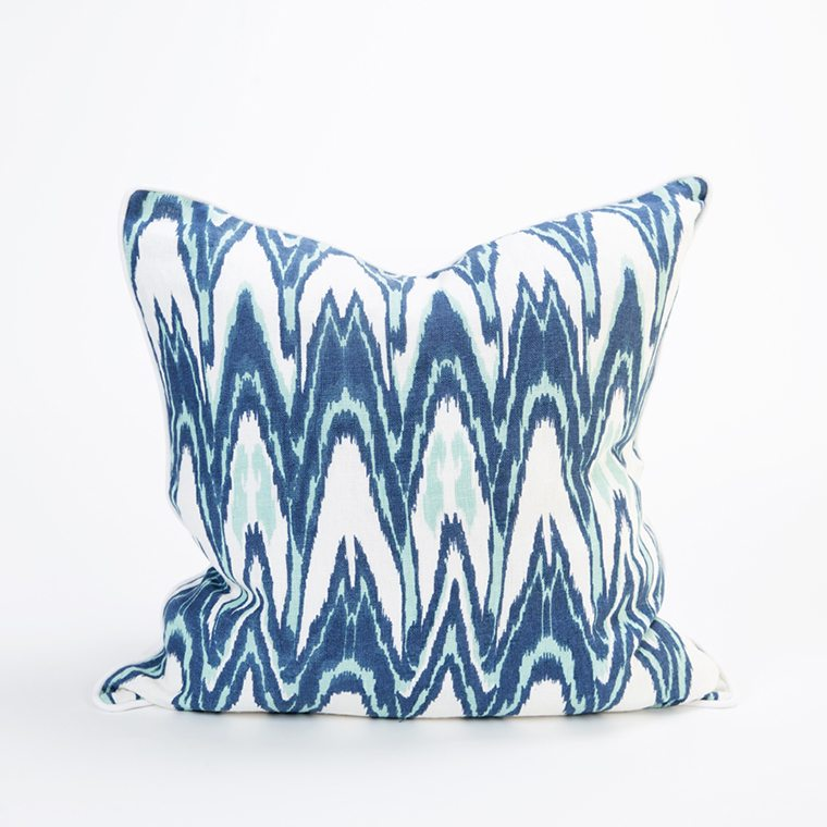 Blue and Teal Pillow Cover l #shopceladon