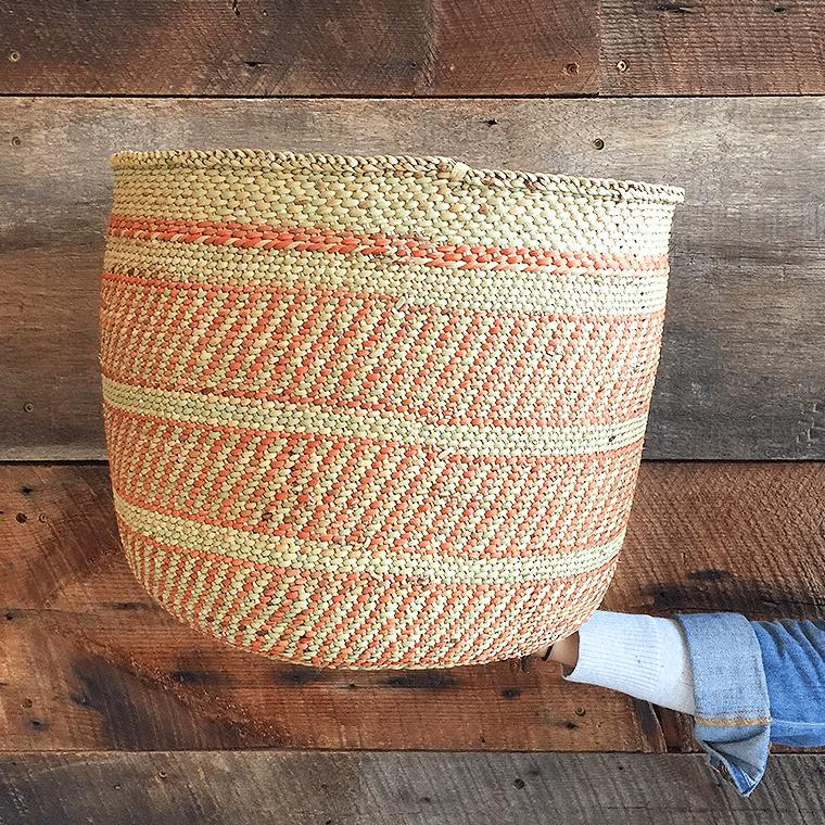 orange-striped-basket-shopceladon