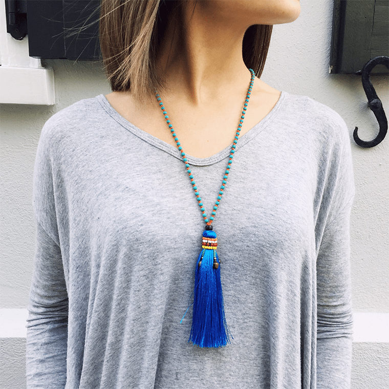 blue-tassle-necklace-shopceladon
