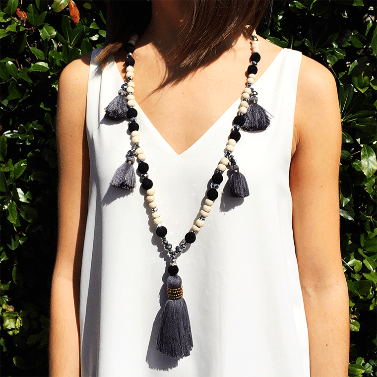 gray-tassle-and-beaded-necklace-2-shopceladon