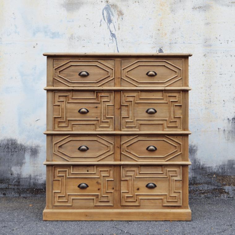 old pine dresser celadon