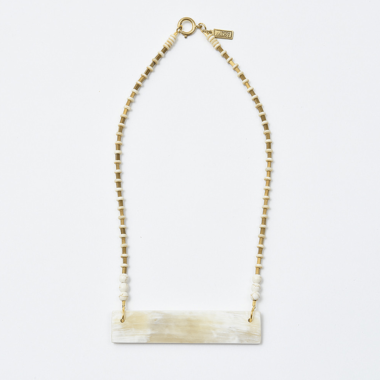 white-horn-crossbar-necklace-shopceladon