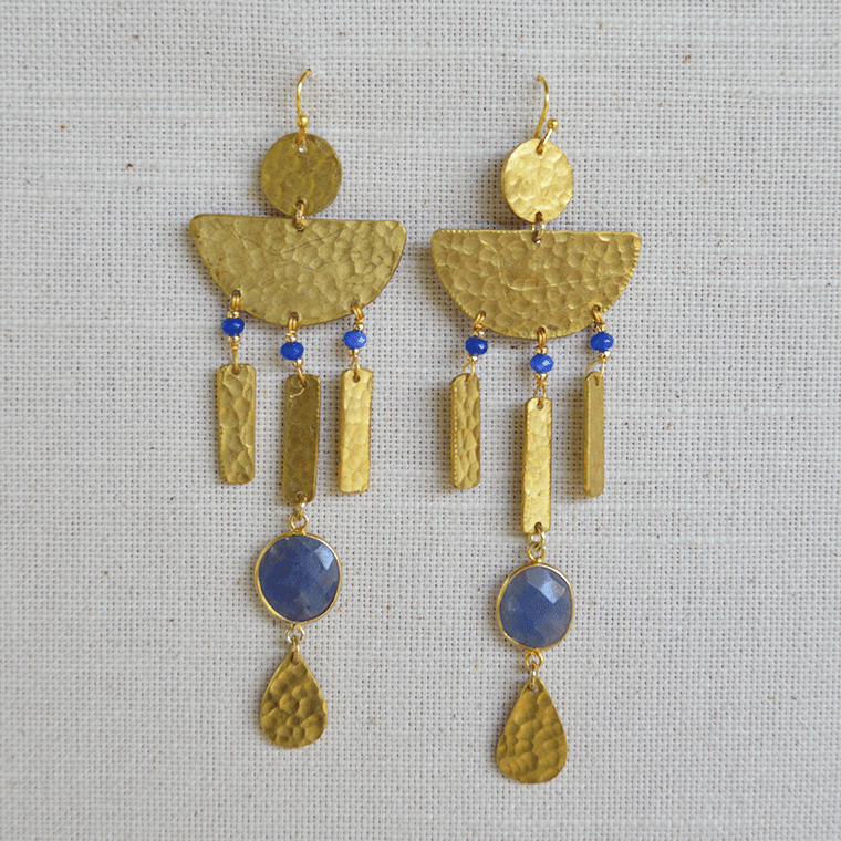 aegean-brass-drop-earrings-shopceladon
