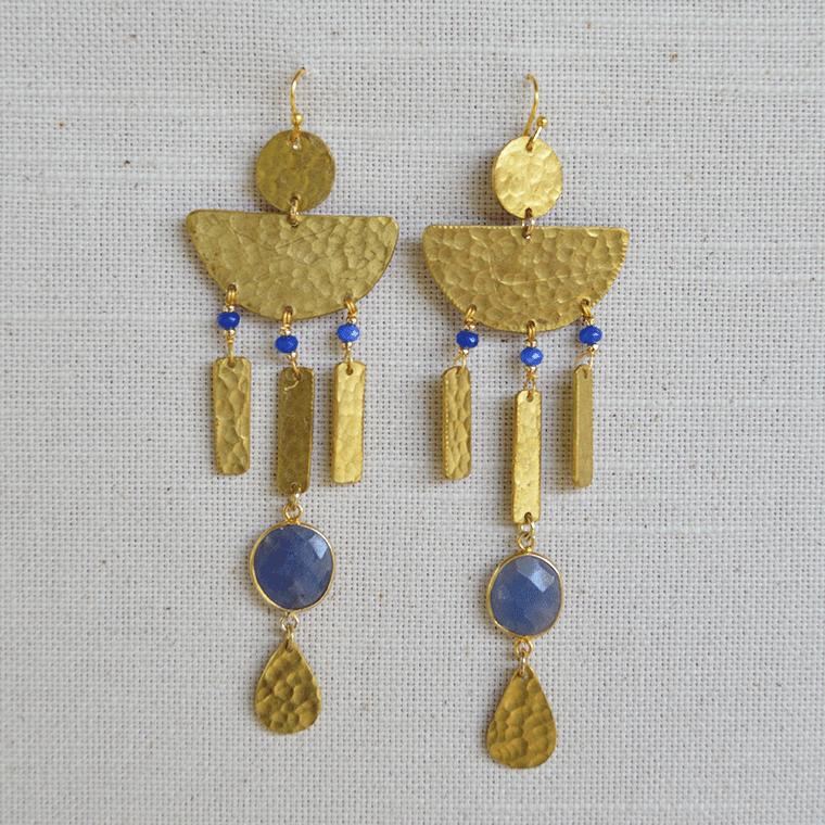 aegean-brass-drop-earrings-shopceladon
