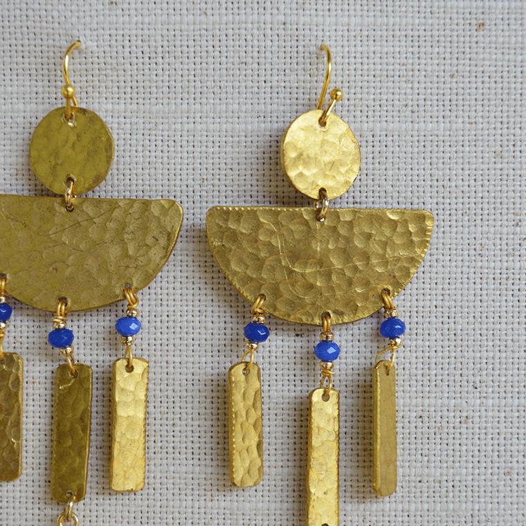 aegean-brass-drop-earrings-2-shopceladon