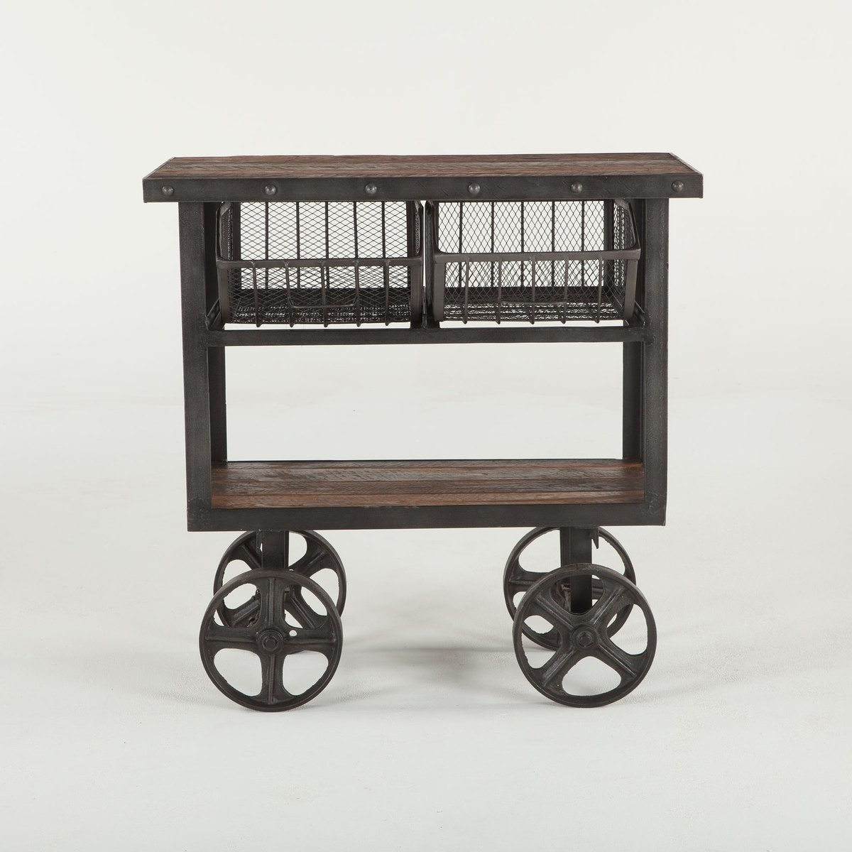 industrial-teak-cart-table