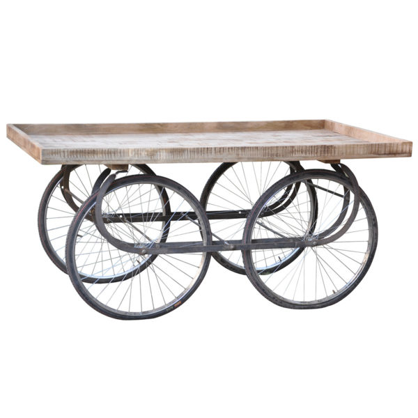 Cart-with-Bicycle-Wheels