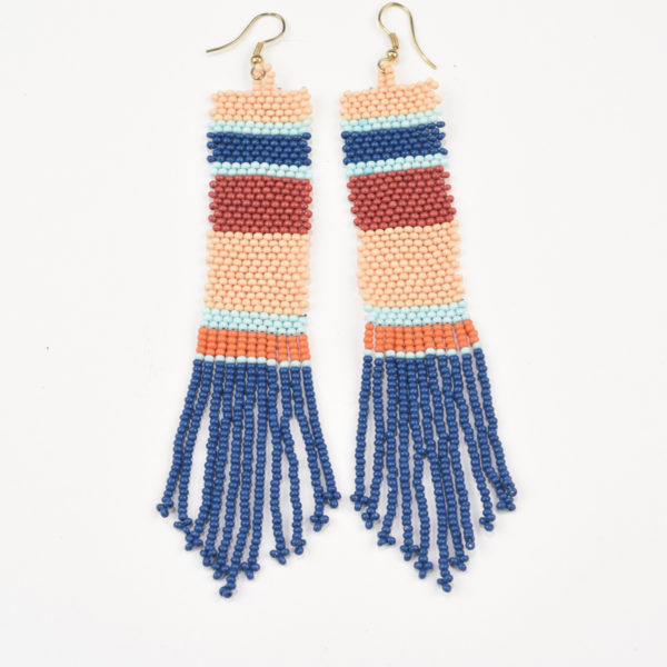 Two-Color-Tassel-Peach