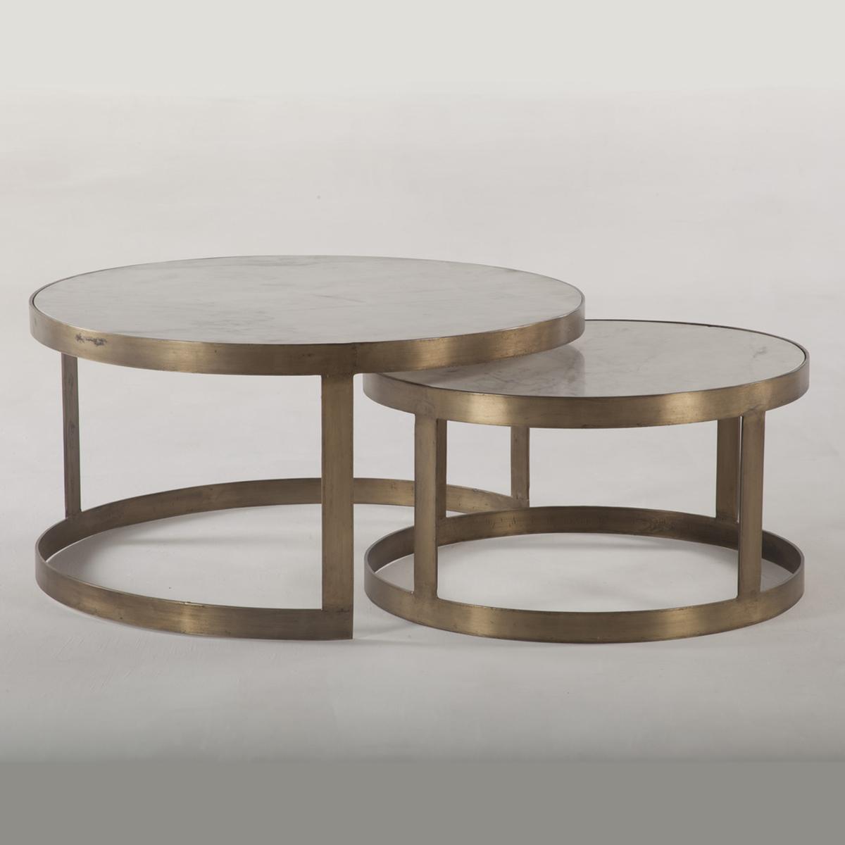 Michaelangelo Nesting Coffee Table – 36″