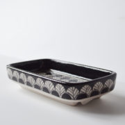 Black-and-White-Square-Soap-Dish-1