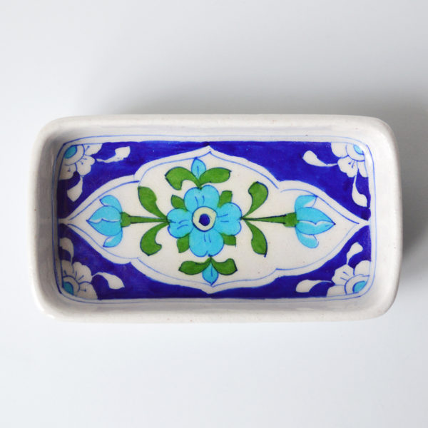 Royal-Turquoise-Green-Square-Soap-Dish-3