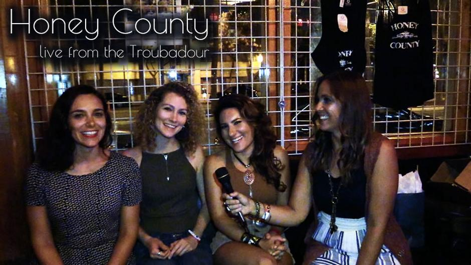 Conversations with Missy: Honey County at the Troubadour