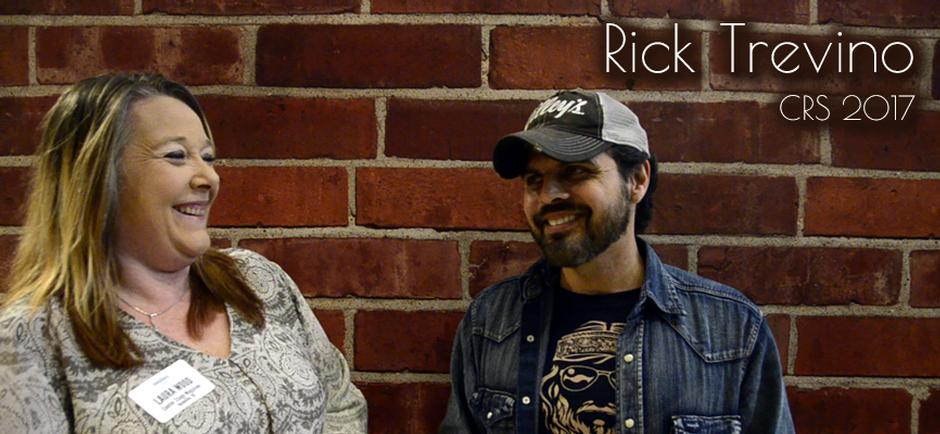 Beyond the Music With Laura: Rick Trevino at CRS
