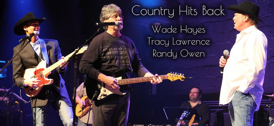 Country Hits Back Round 2- Fighting Colorectal Cancer with Wade Hayes Tracy Lawrence Randy Owen