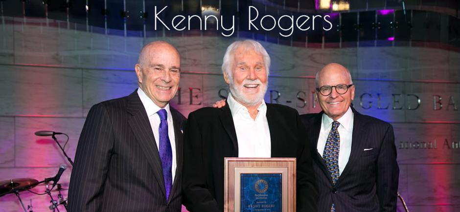 Press Release: Kenny Rogers Receives Special Award From Smithsonian