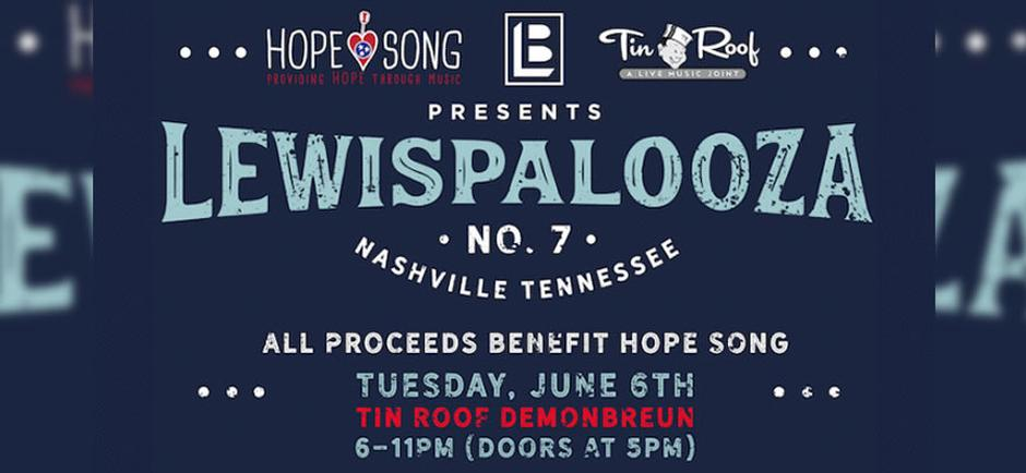"""Beyond The Music with Laura:  Lewispalooza: providing """"Hope"""" and changing lives through music"""