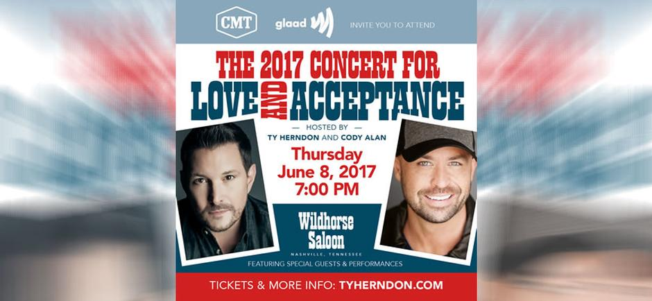 Beyond the Music with Laura: Ty Herndon's 2017 Concert for Love & Acceptance Series - Intro