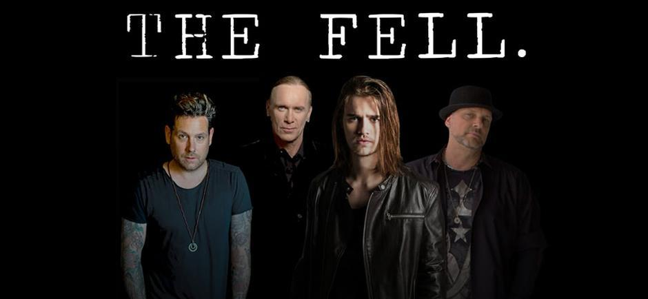 The Fell: Billy Sheehan, Mike Krompass, Anthony De La Torre and Randy Cooke