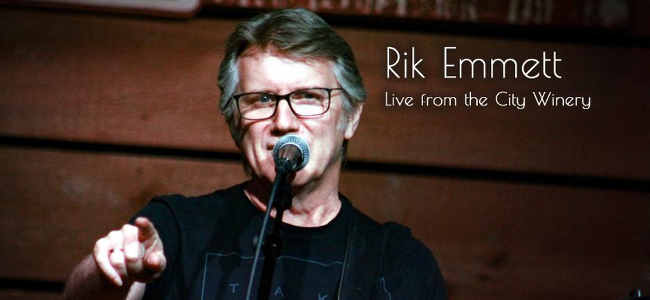Rik Emmett of Triumph Acoustic Duo at City Winery Nashville