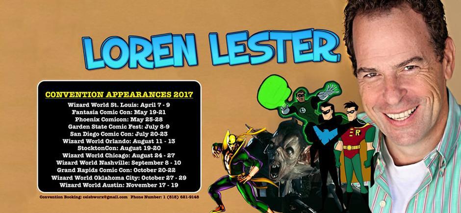 Wizard World Comic Con with Loren Lester