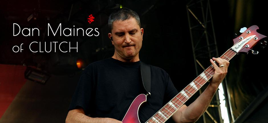 Talking Influences with Dan Maines of Clutch
