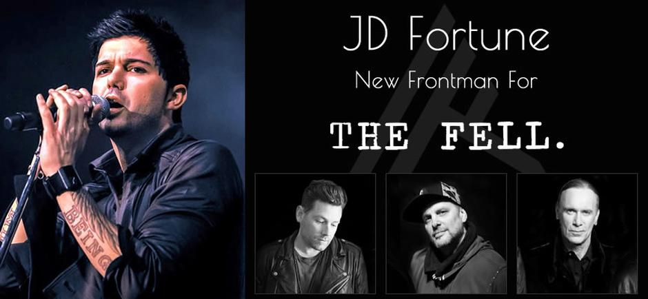 Press Release: The Fell Announces New Frontman JD Fortune Formerly of INXS
