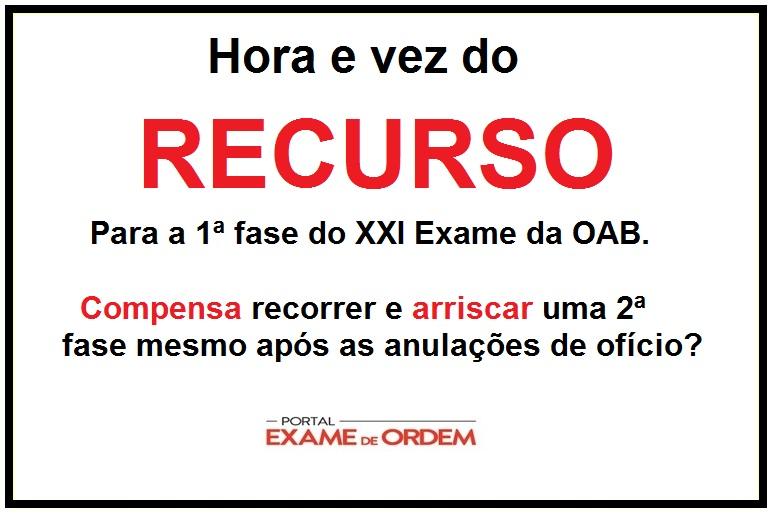prazo recursal da oab