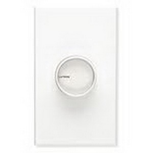 Lutron C-1000-WH Centurion Single Pole Rotary Dimmer 120 Volt AC, 1000 Watt, Incandescent\/Halogen, White,