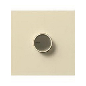 Lutron C-2000-BE Centurion Single Pole Rotary Dimmer 120 Volt AC, 2000 Watt, Incandescent\/Halogen, Beige,