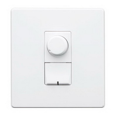 Leviton AWRMG-ICW Renoir II Architectural Wall Box Rotary Dimmer 120 Volt AC, 1500 Watt, Incandescent,